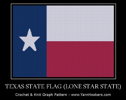 Crochet Pattern For Texas Longhorn Afghan : Yarn Hookers.com - Critters, Sports/Teams, Silhouettes